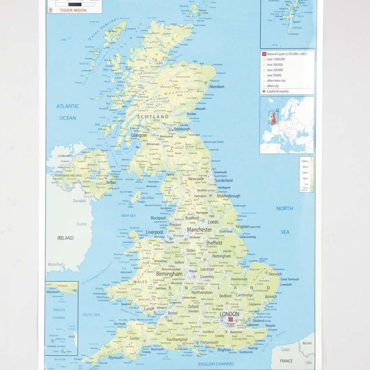 Kjop Kart Norge Kart Til A Kjope Storbritannia Northern Europe