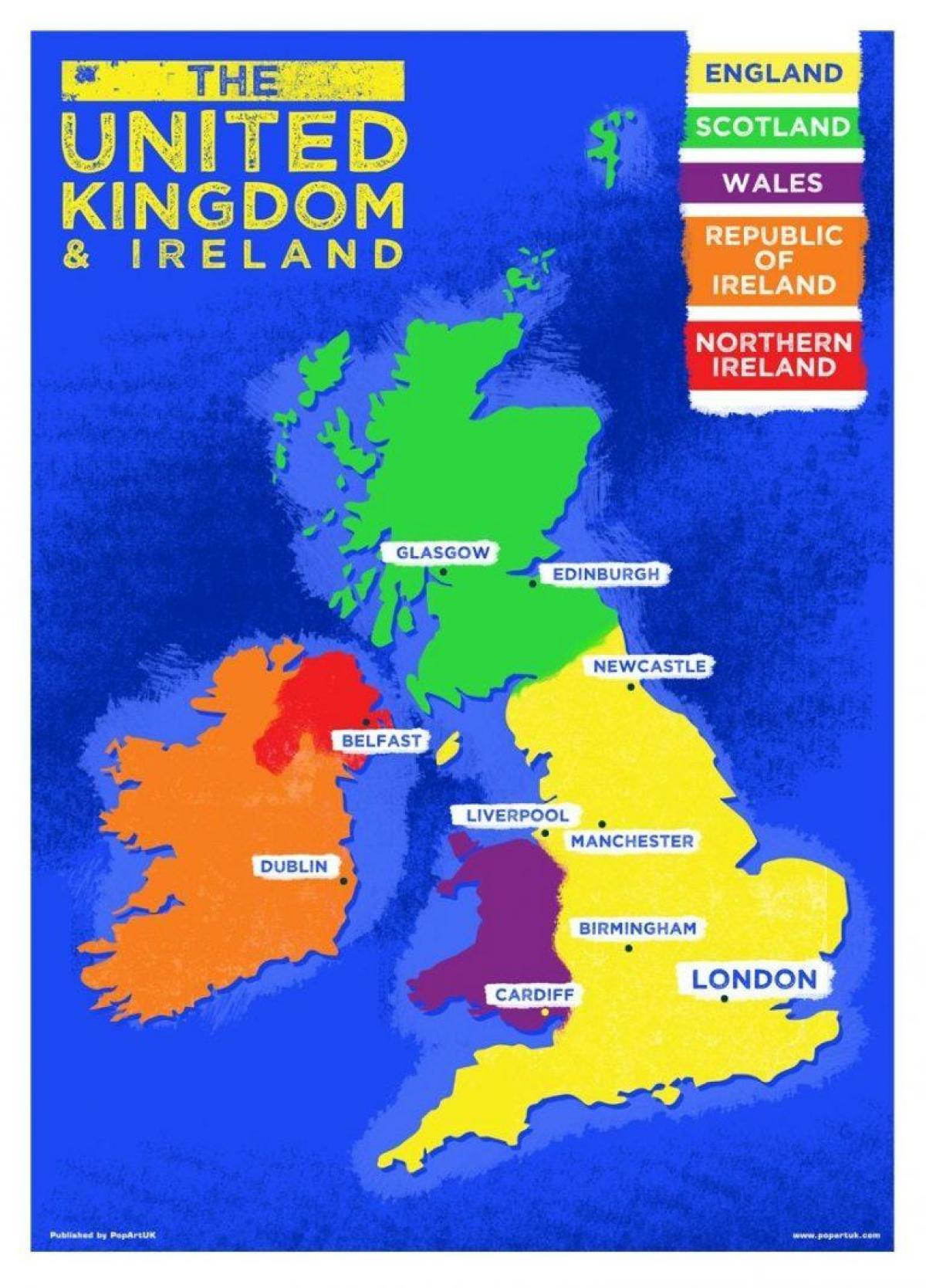 Online Kart For Norge Kjope Kart Online Storbritannia Northern